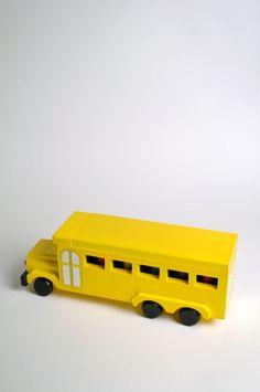 Wooden School Bus