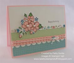 Stampin' Up! SU by Patty Gorka, LaLatty Stamp 'n Stuff