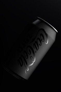 coca cola and black image Black And White Aesthetic, Black Love, Black Art, Matte Black, Color Black, Catty Noir, Gloss Matte, Photo Images, Aesthetic Colors