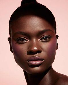 Afro, Sheer Shades, Dark Skin Makeup, Cream Blush, Black Is Beautiful, Beautiful People, Beautiful Women, Girls Makeup, 1 Oz