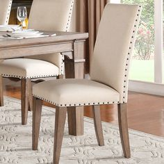Homelegance Mill Valley Side Chair (Set of Upholstered Dining Chairs, Dining Chair Set, Dining Room Chairs, Side Chairs, Dining Table, Dining Room Design, New Furniture, Decoration, Home Decor