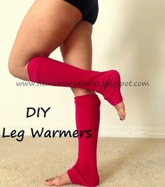 Diary of a Fit Mommy: DIY One Step Leg Warmers for Fall 80s Party Outfits, 80s Outfit, Leg Warmers 80s, Mommy Workout, Old Sweater, 80s Costume, Costume Ideas, Halloween Costumes, Sewing Crafts