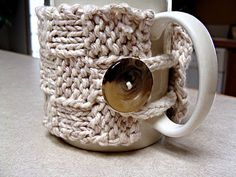 Making this soon with some leftovers in my stash to make my work mug pretty and warm :)  Then who knows, maybe a second for my house mug.