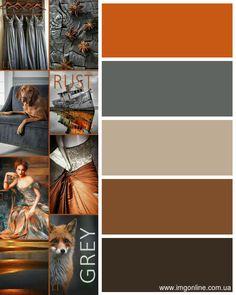 Palette couleur pour intérieur industriel