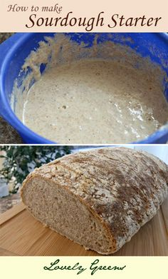 How to make Sourdough Starter ~ Sourdough bread is easier to digest for those with gluten intollerance or sensitivity