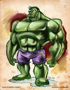 #Hulk #Animated #Fan #Art. (Hulk) By:Enbuenahora. ÅWESOMENESS!!!™ ÅÅÅ+