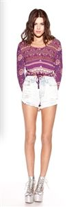 Slasher shorts by Mink Pink. Online and in store. www.shoplaurennicole.com