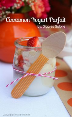 Cinnamon Yogurt Parfaits