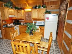 Bearadise Vacation Cabin Rental in Pigeon Forge and Gatlinburg Tennessee