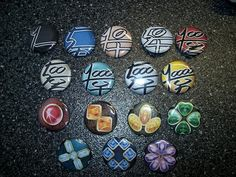 TWEWY Pins - Currency - Metals by Paradise-Props on DeviantArt