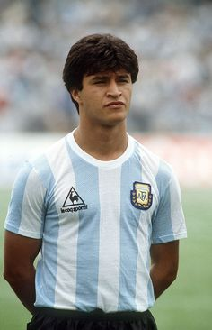Claudio Borghi, Argentina, who was a member of the 1986 Argentinian World Cup winning squad World Football, Football Fans, Football Players, Argentina Football Team, Fifa, Equipement Football, India Eisley, Olivia Hussey, Argentine