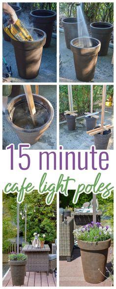 Casa Patio, Backyard Patio, Backyard Landscaping, Diy Patio, Diy Planters Outdoor, Diy Outdoor Decorations, Deck Planters, Patio Decks, Decking
