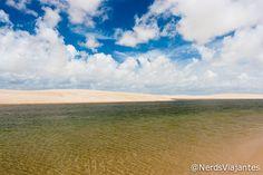 Lagoa Verde - Lençóis Maranhenses - Maranhão - Brasil