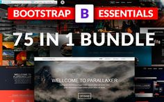 Massive Essentials Templates Bundle by Bootstraptor on @creativemarket