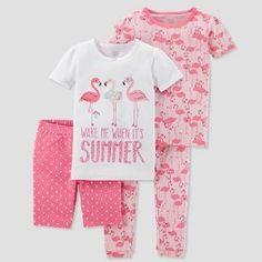 Girl/'s Kids Toddlers Summer Pyjamas fun cat print  93/% Cotton Pjs 1 to 10 Years