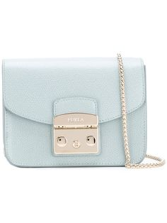 FURLA Metropolis Mini Shoulder Bag. #furla #bags #shoulder bags #leather #nylon #