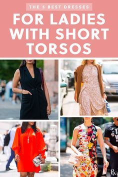The 5 Best Dresses for Ladies with Short Torsos  purewow  body type  dress 22f5c951d