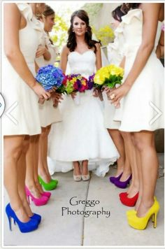 Rainbow Wedding!