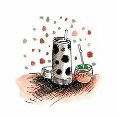 Yerba Mate, Love Mate, Tumblr Photography, Decoupage, Illustration Art, Instagram, My Favorite Things, Wallpaper, Drawings