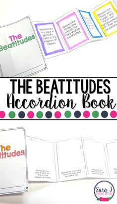 The Beatitudes Mini Book is the perfect activity for teaching kids about the Beatitudes from Matthew's version of the Gospel (Catholic edition) Ccd Activities, Religion Activities, Teaching Religion, Printable Activities For Kids, Catholic Religious Education, Catholic Religion, Catholic Kids, Kids Church, Catholic Homeschooling
