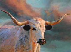 "Teresa Elliott Artist - gallery-1 ""Blue roan"" 36 x 48 oil"