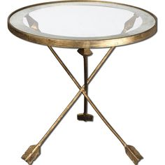 Aero Glass Top Accent Table | Overstock.com Shopping - The Best Deals on Coffee, Sofa & End Tables $199.99