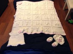 Baby girl blanket, dress, shoes and hat