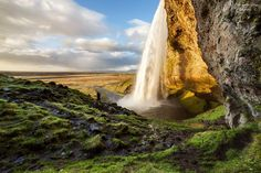 SELECTION OF THE DAY by @ExpoFineArt > Titolo > Seljalandsfoss > Iceland - 2014 Photo © Massimiliano Broggi > #Expo #FineArt #Photography > #Landscape