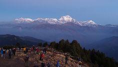 Poon hill View sunrise  Ghorepani Poon hill Trek #GhorepaniPoonHillTrek #ShortTrek #AnnapurnaShortTrek #AnnapurnaregionTrek