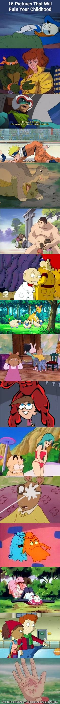 16 Pictures that will ruin your childhood