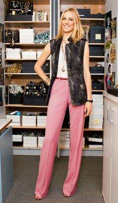 Selby Drummond - calça rosa