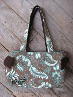 Super Cute Handbag ~  Free Sewing Pattern  *Crystelle Boutique.com*