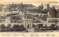 SAMPIERDARENA - Villa Alessi - FOTO STORICHE CARTOLINE ANTICHE E RICORDI DELLA LIGURIA