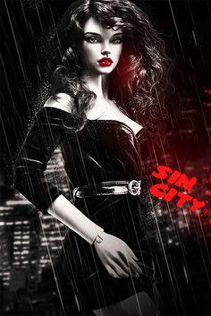 Sin City Doll by Amadiz Studio