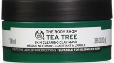 The Body Shop Tea Tree Oil Face Mask. It'll deliver a cooling sensation and it'll deep cleanse pores, control oil, and target breakouts. Also Lush face mask Face Peel Mask, Acne Face Mask, Clay Face Mask, Peel Off Mask, Best Face Mask, Face Masks, Body Shop Tea Tree, The Body Shop, Cucumber Face Mask
