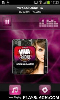 VIVA LA RADIO! ITA  Android App - playslack.com , Plays VIVA LA RADIO! ITA - ItalyViva La Radio! Emotions Italian Network. Genre : folk , pop , jazz, Italian