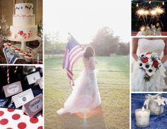 Fourth of July Wedding Inspiration : Partease Blog