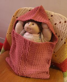 Guest Post Written By Phyllis Serbes of Many Creative Gifts  For my second project with the remaining 3 skeins of Lion Brand Cotton Ease in Berry, I wanted to make a special gift for a baby girl -- a project that would be fun, challenging but not t
