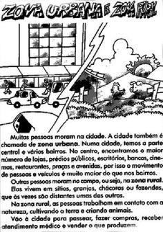 ZONA RURAL  E URBANA - atividades
