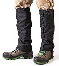 """2pcs 15/"""" Outdoor Hiking Hunting Waterproof Boots High Snow Legging Gaiters"""
