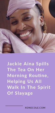 Many of us have come to love Jackie Aina over the years because of her fun personality, extra-ness, and skills when it comes to hair in makeup. Beauty Routine Checklist, Daily Beauty Routine, Beauty Routines, Face Care Routine, Skin Care Routine Steps, Skin Care Tips, Jackie Aina, Jackie Jackie, Coconut Oil Body Scrub