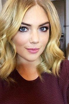 Kate Upton Cut Her Hair Short - Best Celebrity Lobs - Harper's BAZAAR Magazine