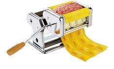 Машинка для приготовления равиоли и раскатывания теста для пасты (Gusto Pasta Machine and Ravioli Maker)