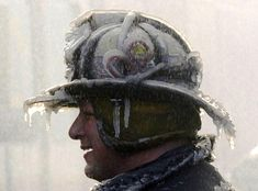 Frozen Firefighter - Pixdaus