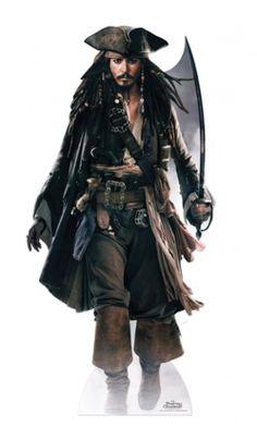 Figurine Géante Jack Sparrow ''Pirates Des Caraibes''