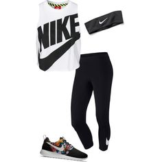 Untitled #2478 by stantonjayla on Polyvore featuring polyvore fashion style NIKE
