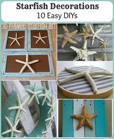 Starfish Decorations: 10 easy DIYs for your nautical decor!