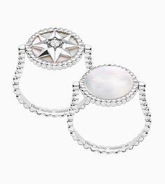 Emmy DE Dior Rose De Vents Victoire de Castellane rings