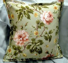 DECORATIVE PILLOW shams 2 16x16 Hand Made from Ralph by Sew1Pretty