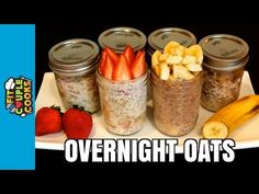 How to Meal Prep - Ep. 23 - OVERNIGHT OATS - YouTube